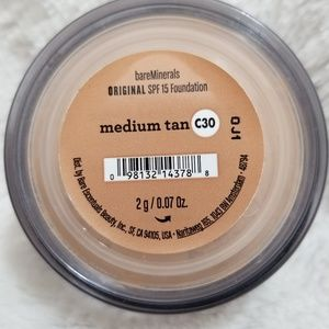 bareMINERALS MEDIUM TAN C30 SPF 15 FOUNDATION